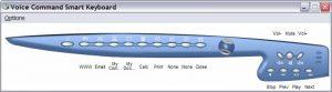 Программа для обучения BTC Voice Command Keyboard
