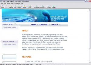 Web PageMaker