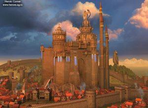Так выглядит замок в Heroes 5