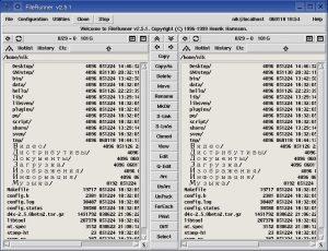 Файловый менеджер FileRunner