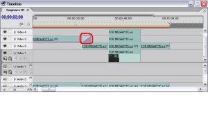 Окно Timeline в Adobe Premier