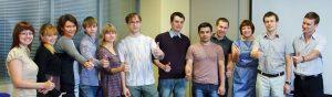 Финалисты проекта и сотрудники «Tele2 Киров»