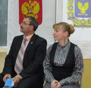 Юрий Кувалдин и Светлана Лежнина
