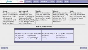 Оригинальная прошивка Acorp LAN120