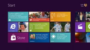Плиточный интерфейс Metro в Windows 8