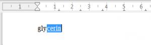 Подстановка слов LibreOffice