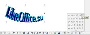 WordArt LibreOffice Writer