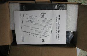 Паяльная станция YouYue-858D+ в коробке